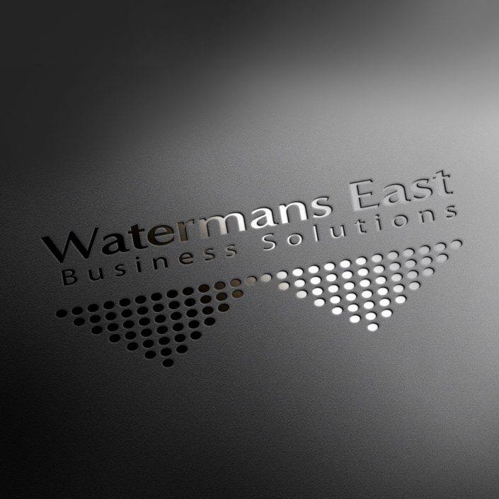watermans east leather logo