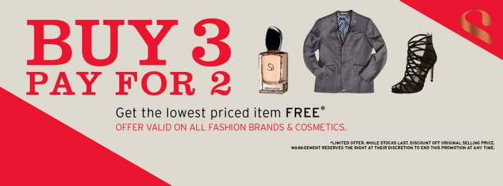 buy 3 for 2 stuttafords banner