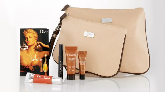 dior gift with purchase shoot