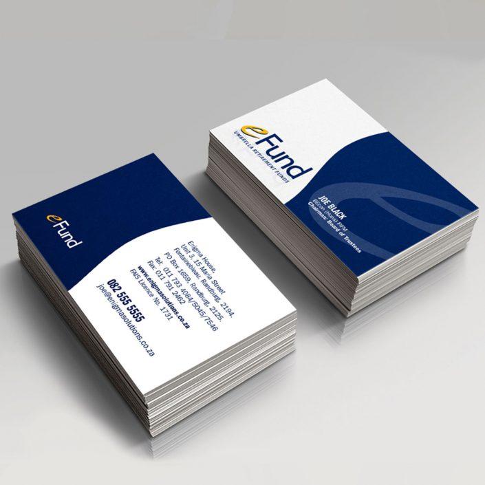 eFund Business cards
