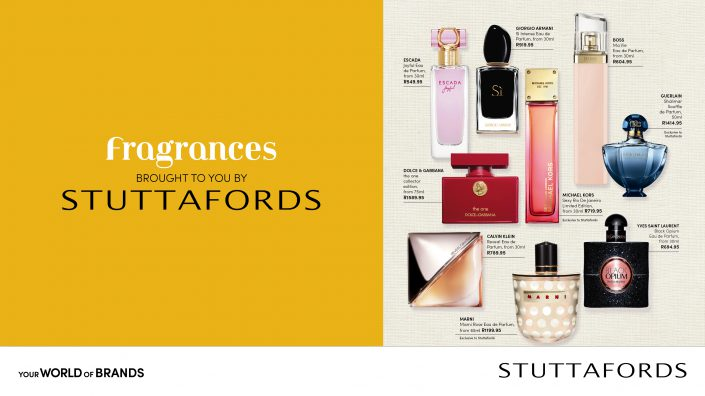 fragrances layout