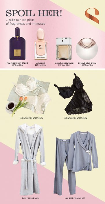 emailer layout fashion and fragrance