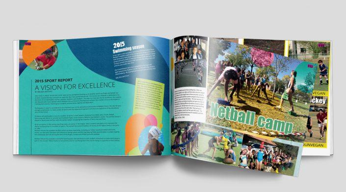 yearbook inside sport