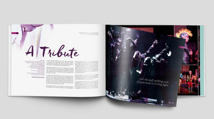 yearbook inside tribute