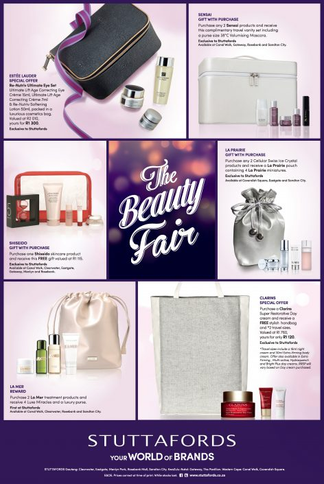 beauty fair advert