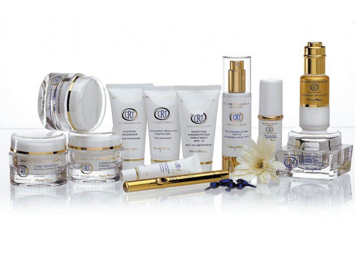 packaging crt skincare range