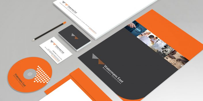 watermans east corporate stationery